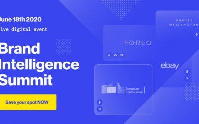 INVITATION: Brand Intelligence Summit (virtual), June 18, 2020