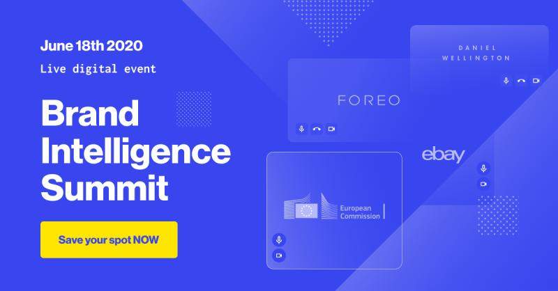 INVITATION: Brand Intelligence Summit (virtual), June 18, 2020