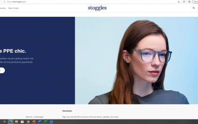 Stoggles Inc successfully stakes its claim to the Stoggles.com domain